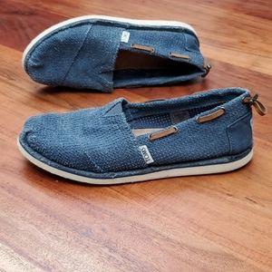 Toms Women's Slipon Flats Boat Style Shoes 7W